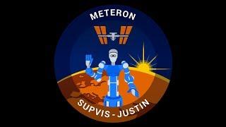 METERON SUPVIS Justin experiment with Alexander Gerst