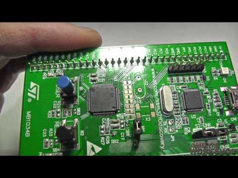 A 10 minute tour of the STM32 F0 Discovery board