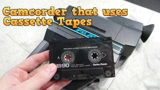 Camcorder that uses Cassette Tapes - The PXL-2000 thumbnail