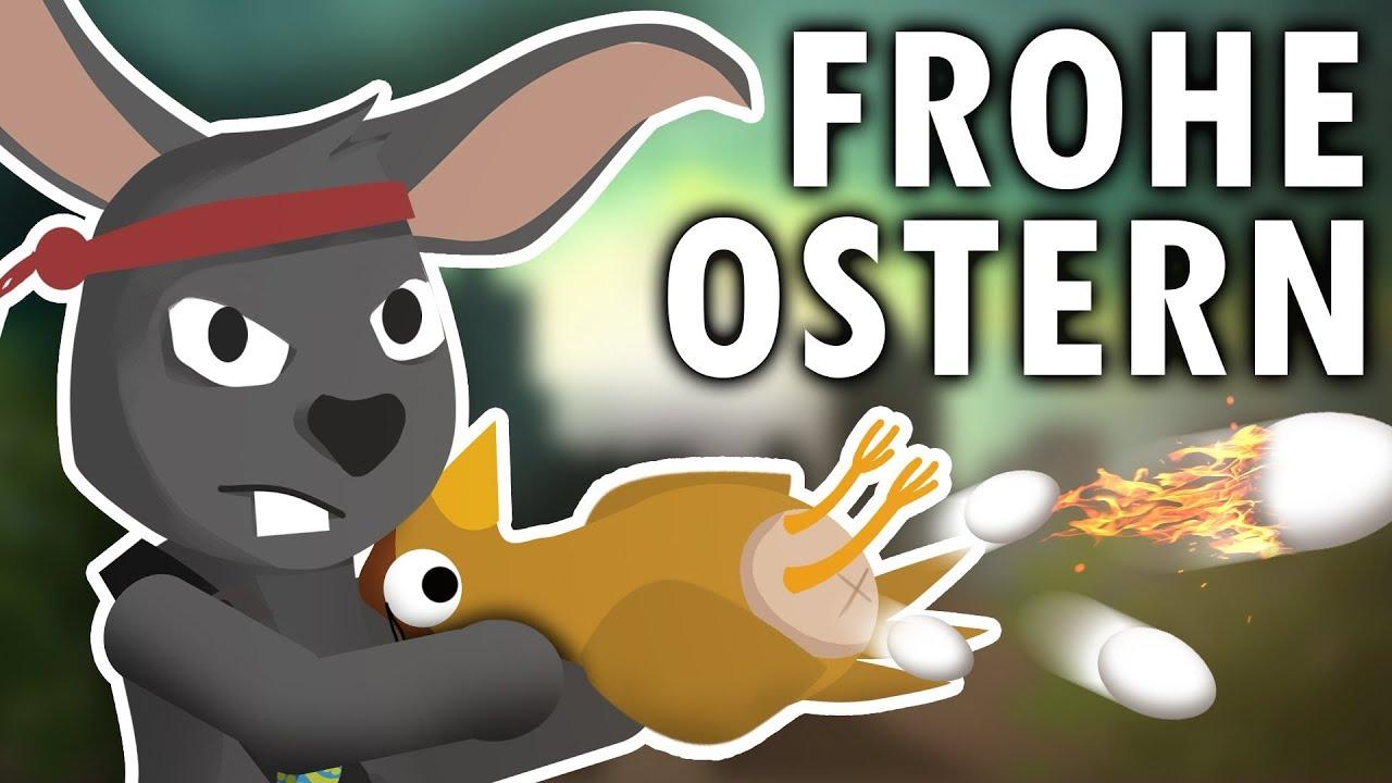 Frohe Ostern Oster Video Lustig Ostergrüße Ostereier Vom