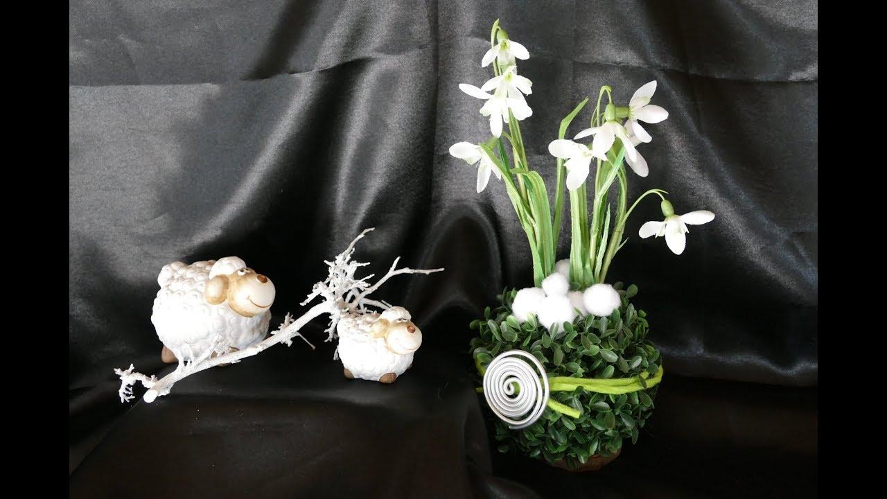 fr hlingsdeko basteln diy wohndeko fr hling. Black Bedroom Furniture Sets. Home Design Ideas