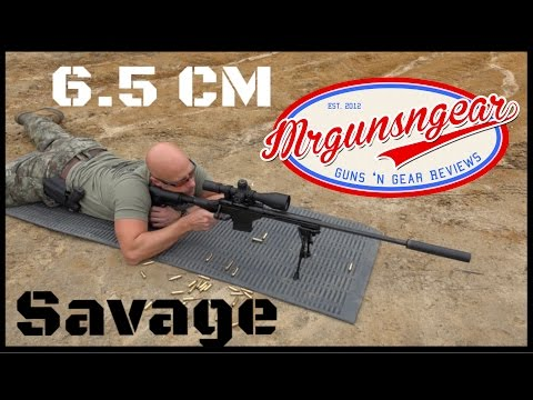 Savage BA Stealth 6.5 Creedmoor & Weaver Tactical 6-30x Scope Review (HD)