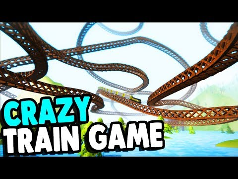 Building CRAZY Train Tracks & Awesome TRAIN SIMULATOR | Train Frontier Classic Gameplay