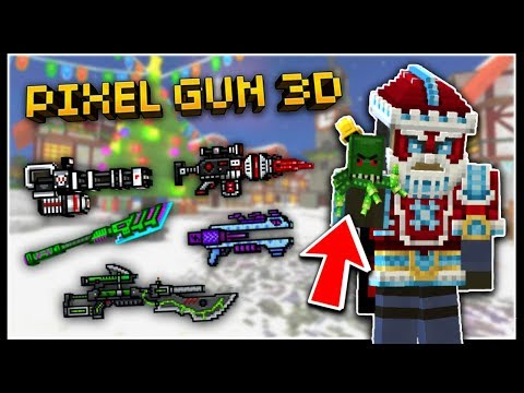NEW CHAMPION WEAPONS!!   Pixel Gun 3D - New Update 13.2.0 [Review]