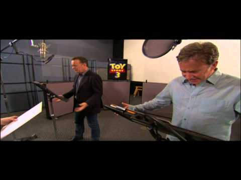 Image result for tom hanks, tim allen recording