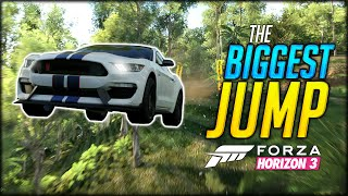 THE BIGGEST JUMP EVER & BETTER THAN REAL LIFE GRAPHICS - FORZA HORIZON 3 GAMEPLAY / FUNNY MOMENTS #1