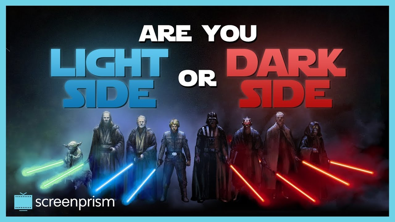 Image result for star wars light side or dark side