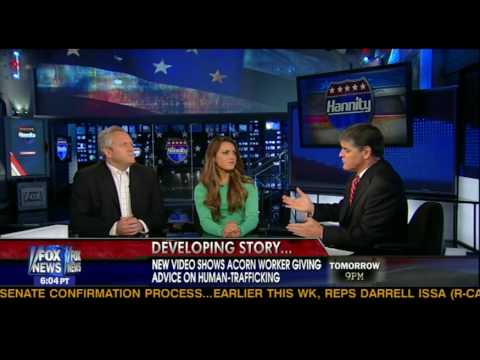 Sean Hannity, Hannah Giles and Andrew Breitbart discuss ACORN San Diego undercover operation