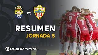 Resumen de UD Las Palmas vs UD Almería (0-3)