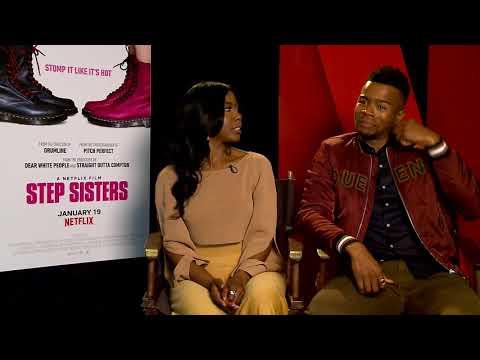 Step Sisters Junket - NETFLIX - Nia Jervier and Marque Richardson