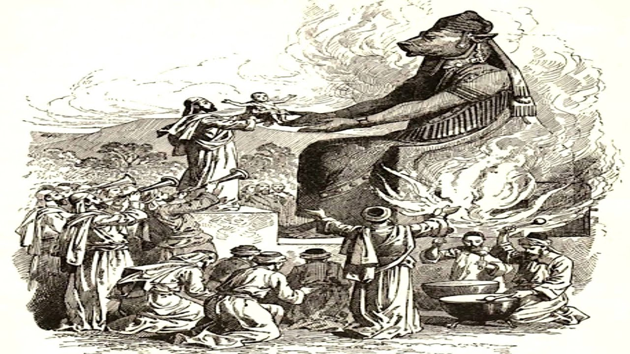 Mythology: Moloch. The meaning of the name and the essence of the deity 88