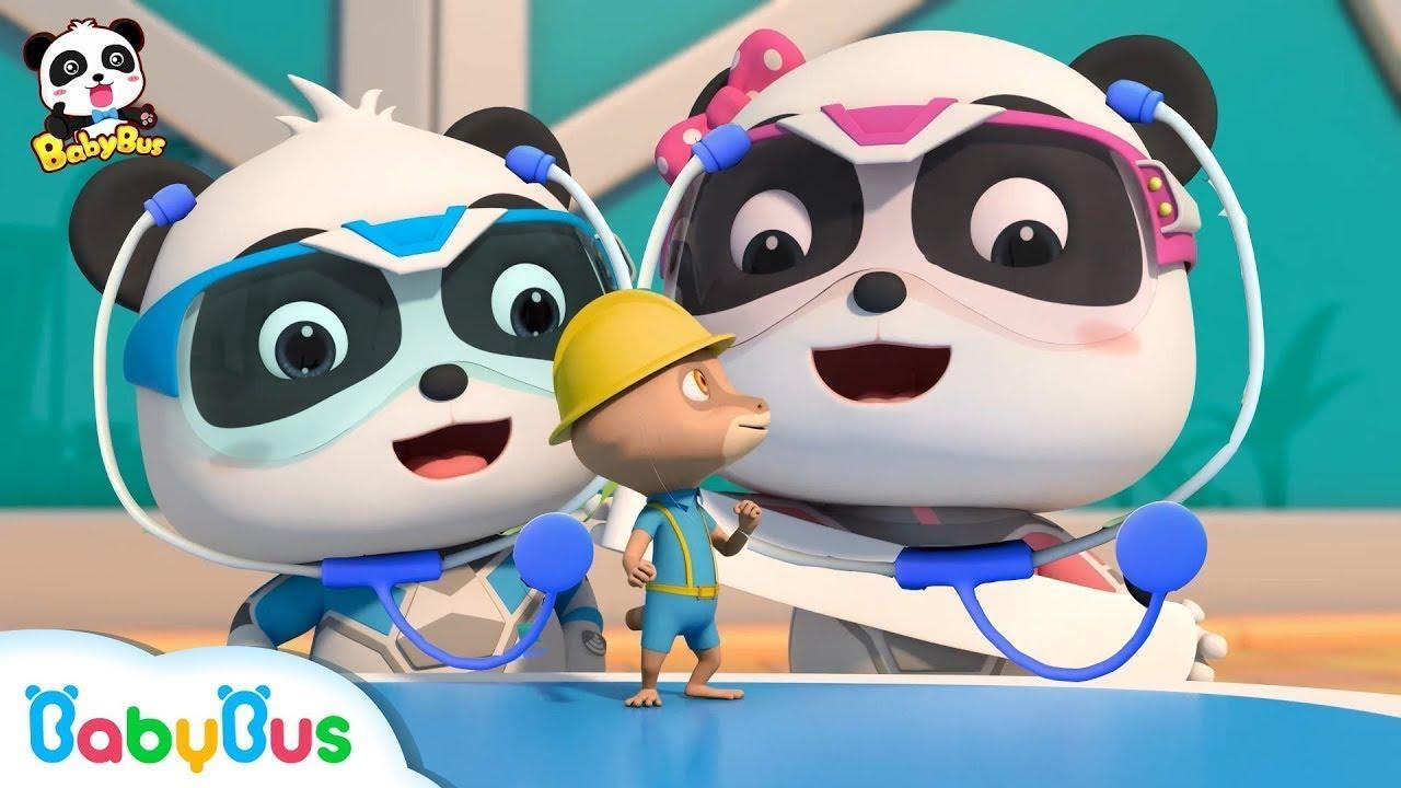 Kiki & Miumiu Adalah Dokter Kecil | Lagu Anak-anak | BabyBus Bahasa Indonesia