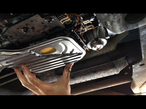 Chevy Truck Transmission Fluid And Filter Change  YouTube