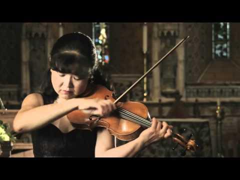 Bach Sonata No. 1 for solo violin (2nd movement - Fuga) - Miho Hakamata