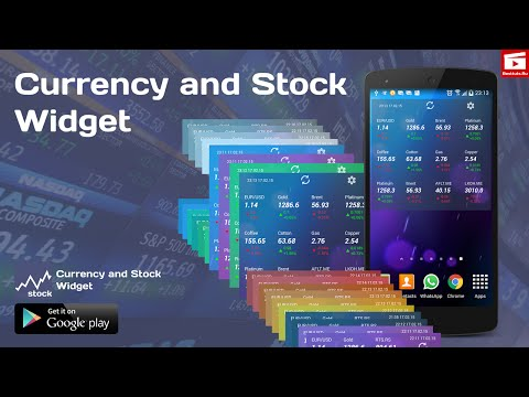 currency-and-stock-widget-for-android