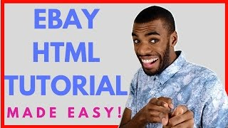 EASILY create STUNNING eBay HTML Listing Templates FOR FREE - Sellercore Tutorial