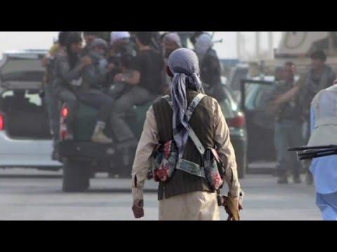 Afghan forces battle Taliban for Kunduz
