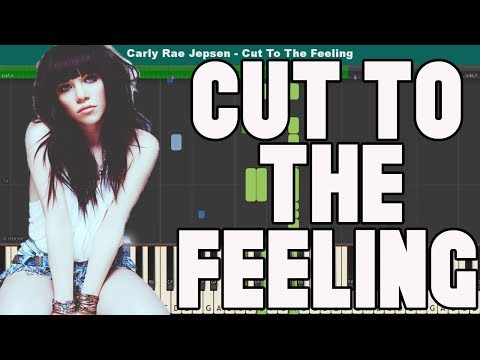 Cut To The Feeling Piano Tutorial - Free Sheet Music (Carly Rae Jepsen)
