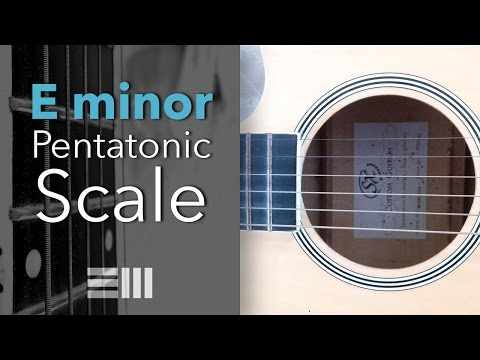 Guitar Lessons For Beginners - Em Pentatonic Scale - First Position