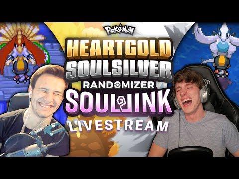 END OF JOHTO LIVE!!! | HEART GOLD & SOUL SILVER RANDOMIZER SLEEPLOCKE!?