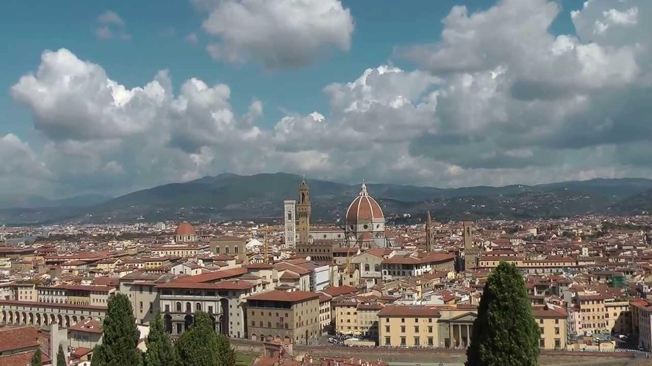 Terrazza con vista su Firenze dal Museo di Villa Bardini ...