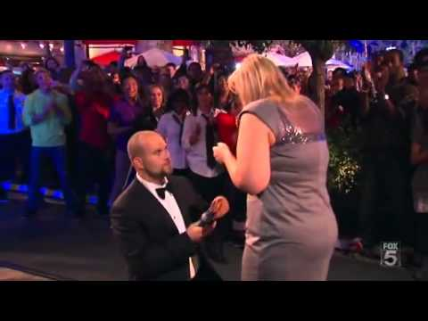 Marriage Proposal & Wedding in an Enormous Dancing Mobbed