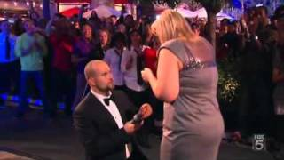 Marriage Proposal & Wedding in an Enormous Dancing Mobbed thumbnail