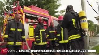 Incendie à Clairière