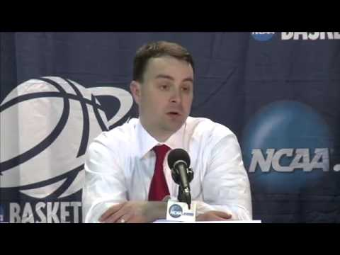 2014 NCAA Basketball Tournament   Dayton Post Game Interview
