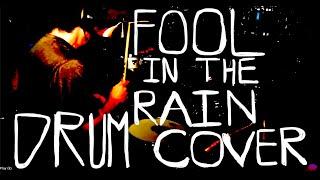 fool in the rain drum cover bonzoleum drum channel