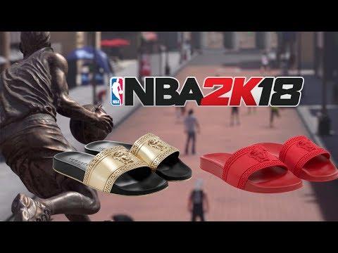 dafd56ed959ee8 Download Nba 2k18 How To Create Versace Flip Flops Shoe Creator MP3 ...