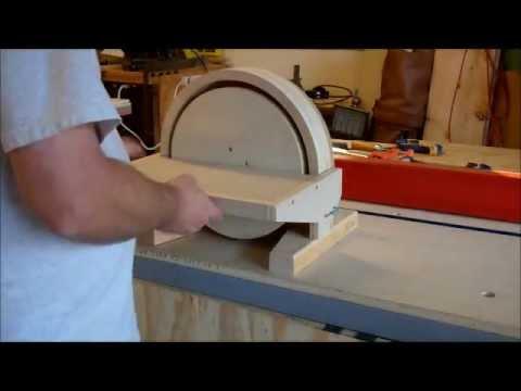 Building A Disc Sander Youtube