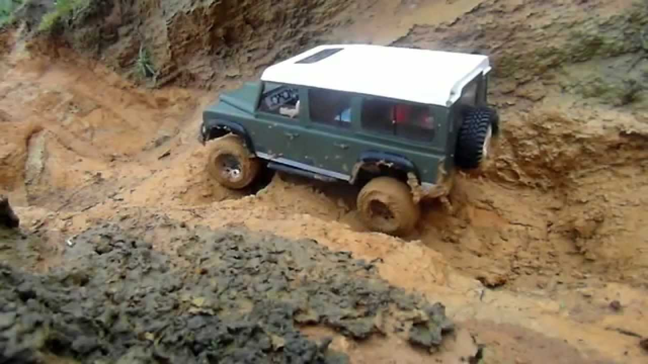 rc crawler land rover defender 110 90 youtube. Black Bedroom Furniture Sets. Home Design Ideas
