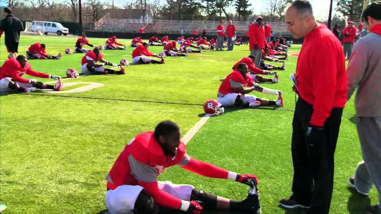 rutgers football 15 days of spring practice up close youtube