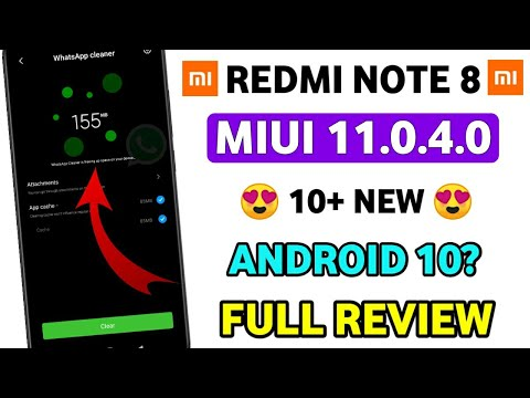 FULL REVIEW - MIUI 11.0.4.0 REDMI NOTE 8 🔥 | MIUI 11.0.4.0 NEW FEATURES REVIEW 🔥
