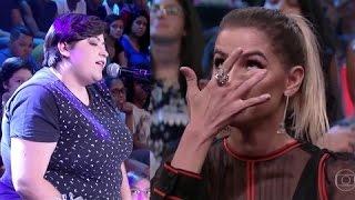 Baixar Ana Vilela canta a música Trem Bala e Deborah Secco chora no altas horas