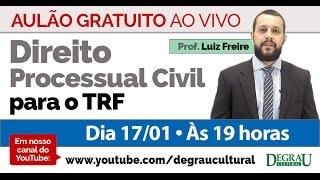 Aulão transmitido ao Vivo com o professor Luiz Freire sobre Direito...