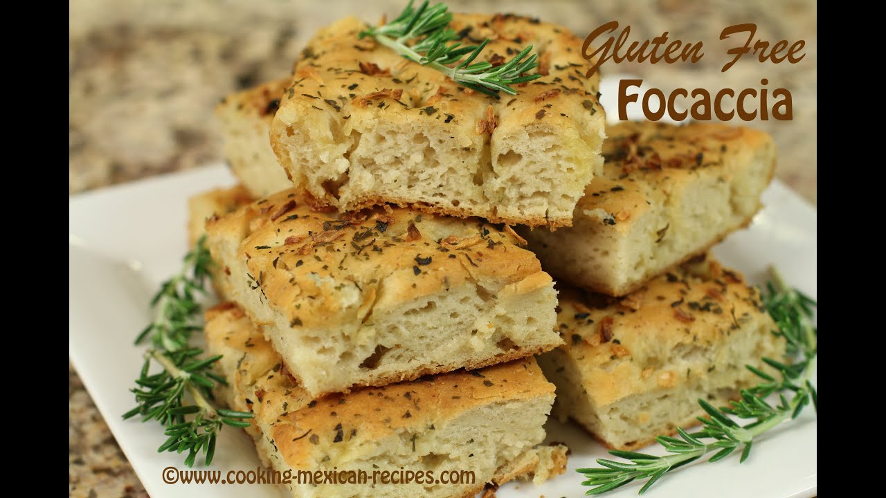 Focaccia Bread - Italian Herb Bread Gluten Free by Rockin ...