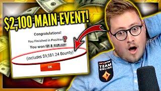 DEEP IN THE $2,100 POWERFEST MAIN EVENT!! PokerStaples Stream Highlights