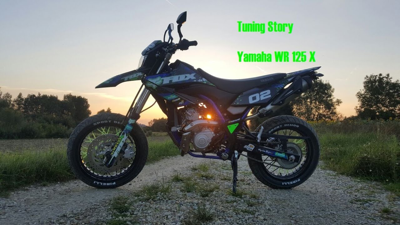yamaha wr 125 x tuning story 2016 youtube. Black Bedroom Furniture Sets. Home Design Ideas