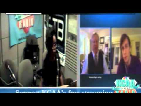 Roseanne Barr - Roseanne KCAA Part 4 Interview Ray Fear 10-20-13