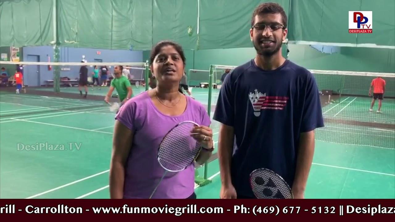 Badminton Event l America Telugu Sambaralu 2019 l NATS l Frisco, TX
