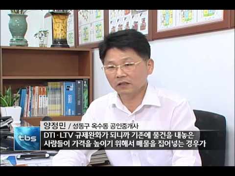 [tbstv] LTV?DTI 규제완화, 시장 반응은?