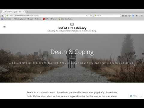 End of Life Literacy video submission