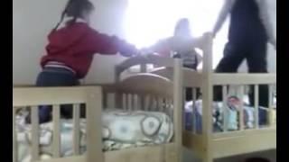 Двухъярусные кровати Карина   есть где детям поиграть