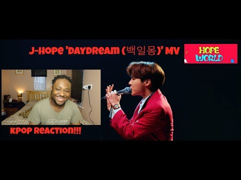 BLACK EUROPEAN GUY REACTS TO KPOP FOR THE FIRST TIME - j-hope 'Daydream (백일몽)' MV