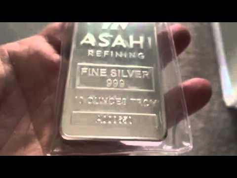 10oz ASAHI Silver Bar