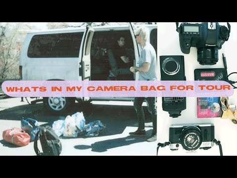 Concert Photographers Bag For TOUR! | @lilacfilm