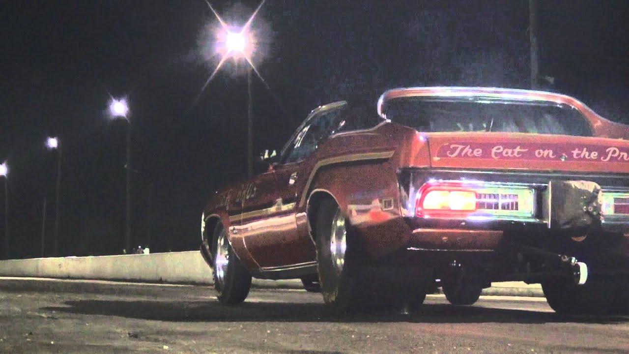 8 Second Car Pro Street 71 Mercury Cougar Drag Racing