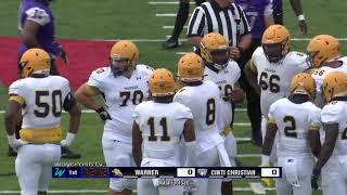 Cincinnati Christian University vs Warner University Football - August 31, 2019